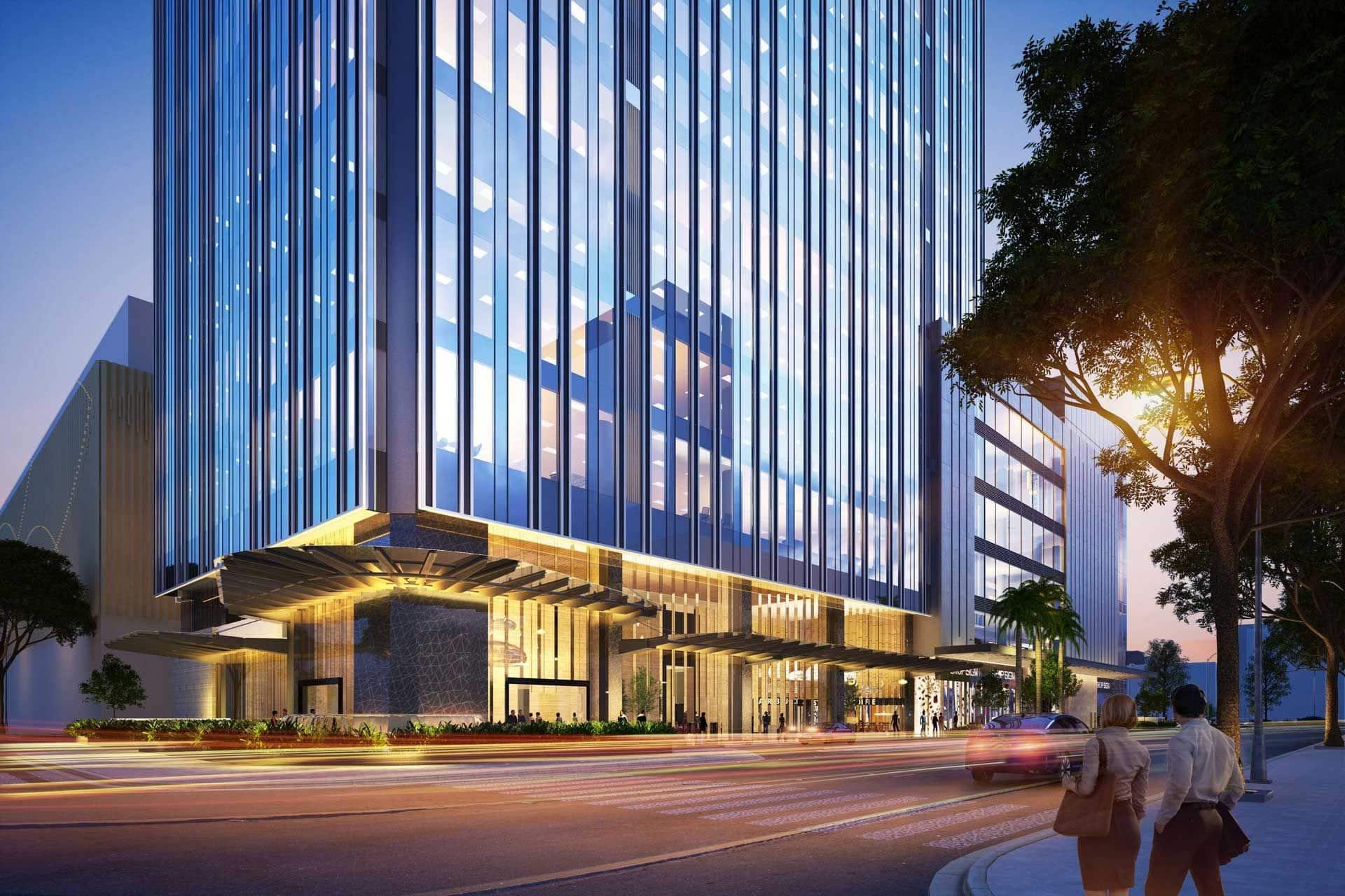 Tòa nhà văn phòng Phú Mỹ Hưng Tower
