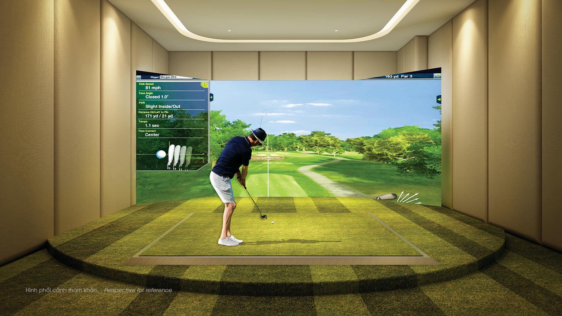 Tiện ích golf 3D cao cấp tại The Antonia Phú Mỹ Hưng