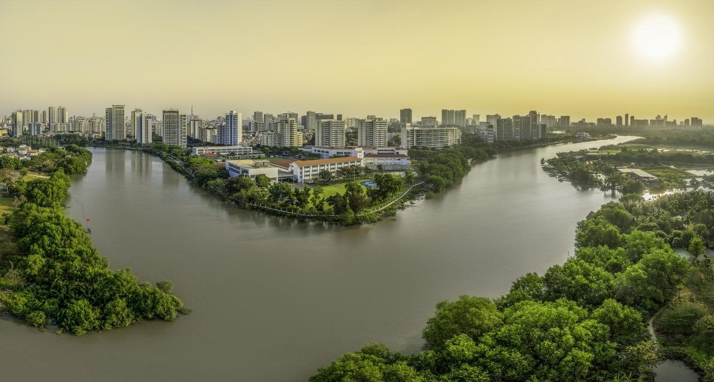 view sông