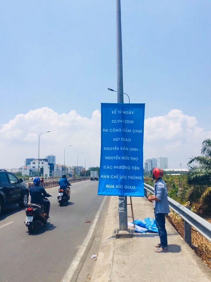 Hầm chui Nguyễn Văn Linh - Nguyễn Hữu Thọ