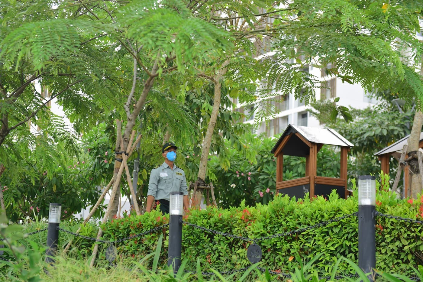 bảo vệ công viên