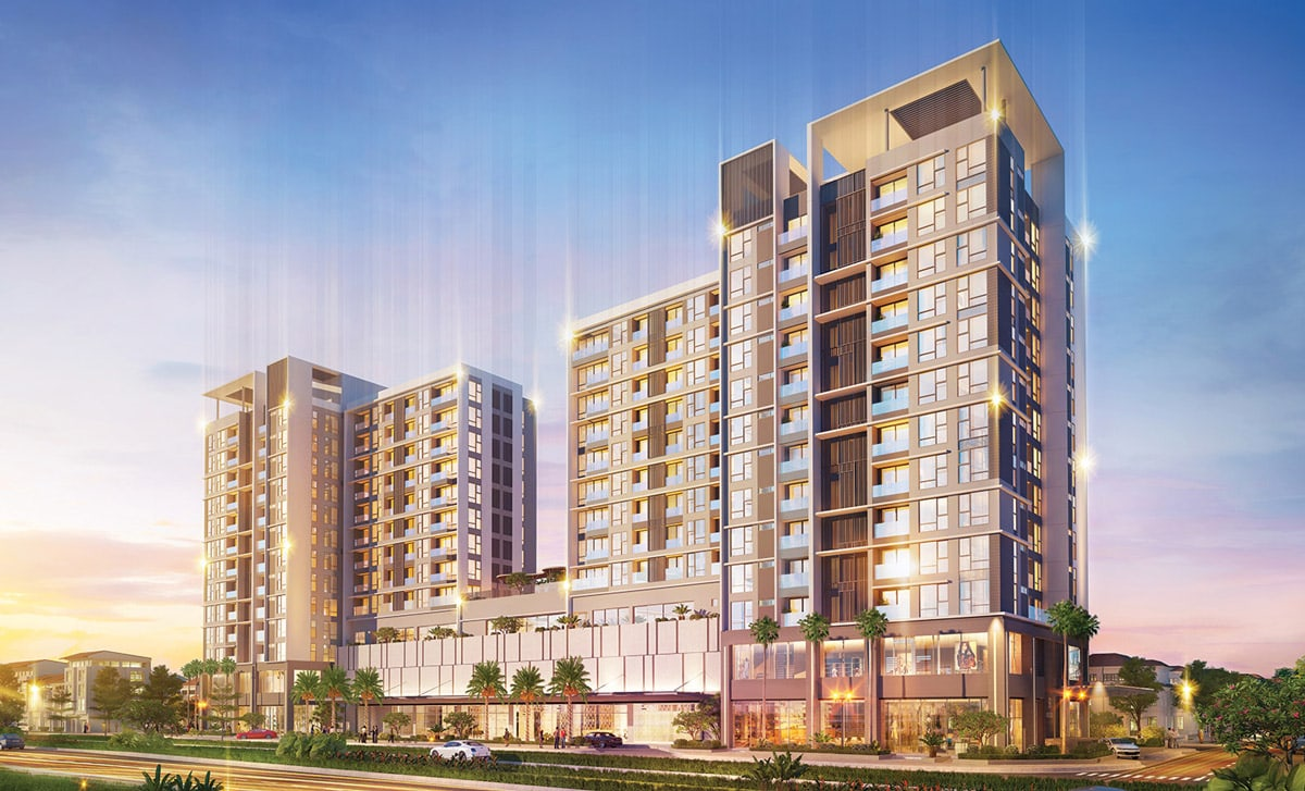 Phối cảnh dự án Phú Mỹ Hưng Urban Hill