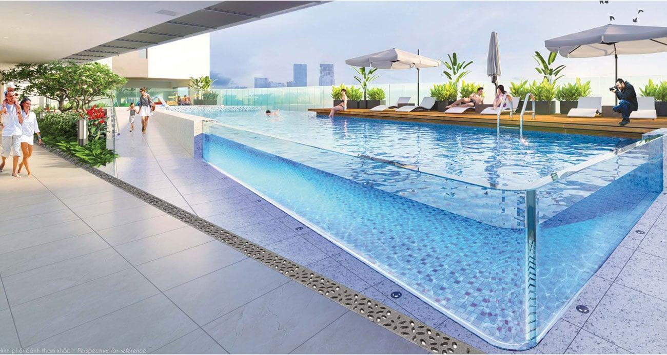 Hồ bơi tại dự án Hưng Phúc Premier Phú Mỹ Hưng