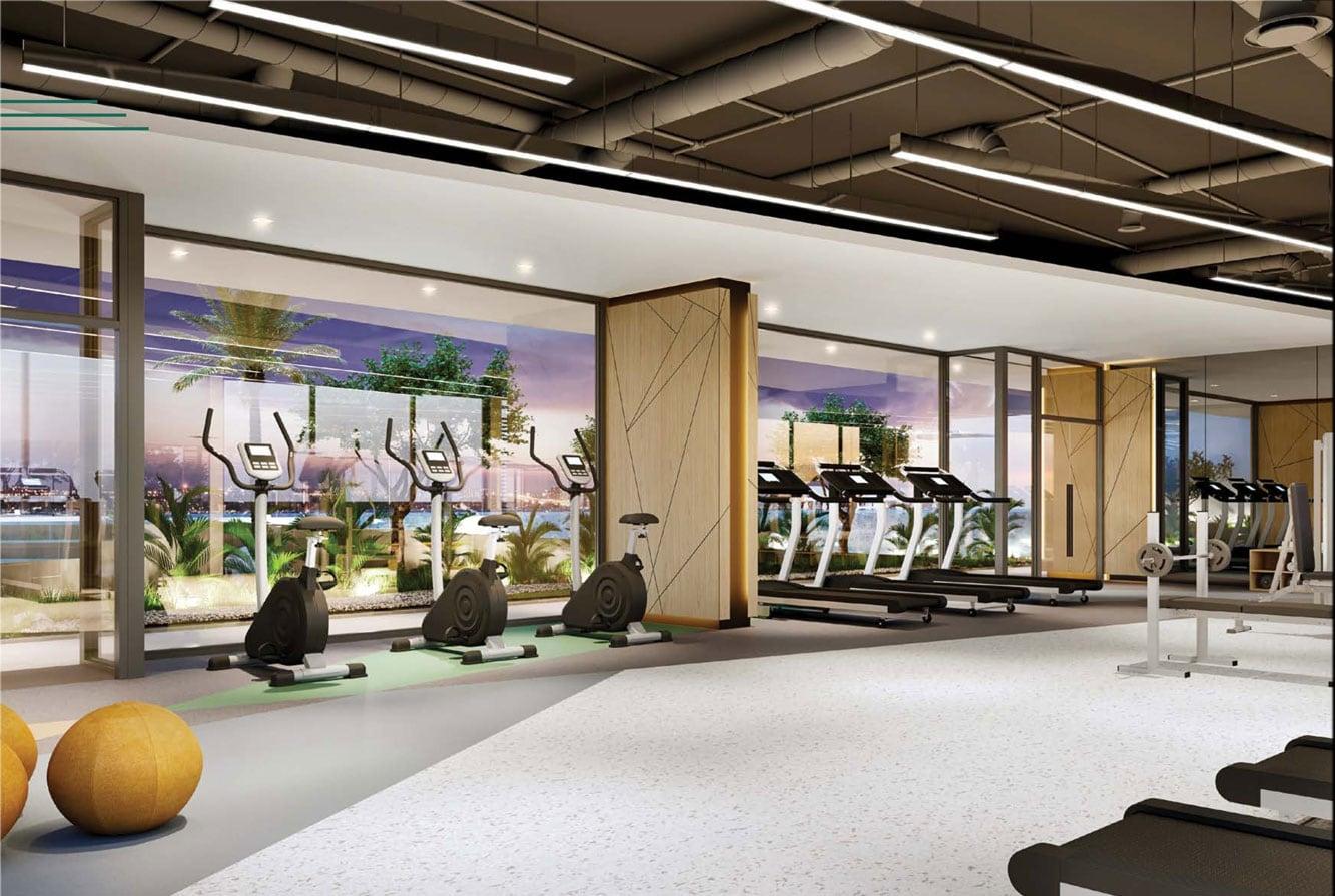 Phòng Gym tại căn hộ Hưng Phúc Premier Quận 7