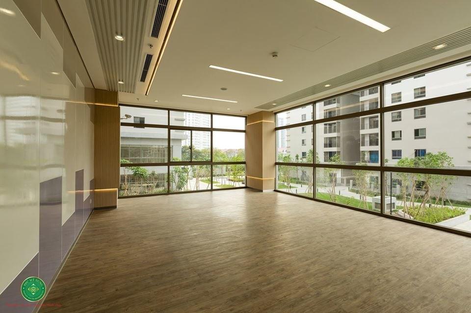 Phòng yoga với view nội khu SSR