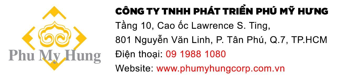 Thông tin liên hệ công ty Phú Mỹ Hưng