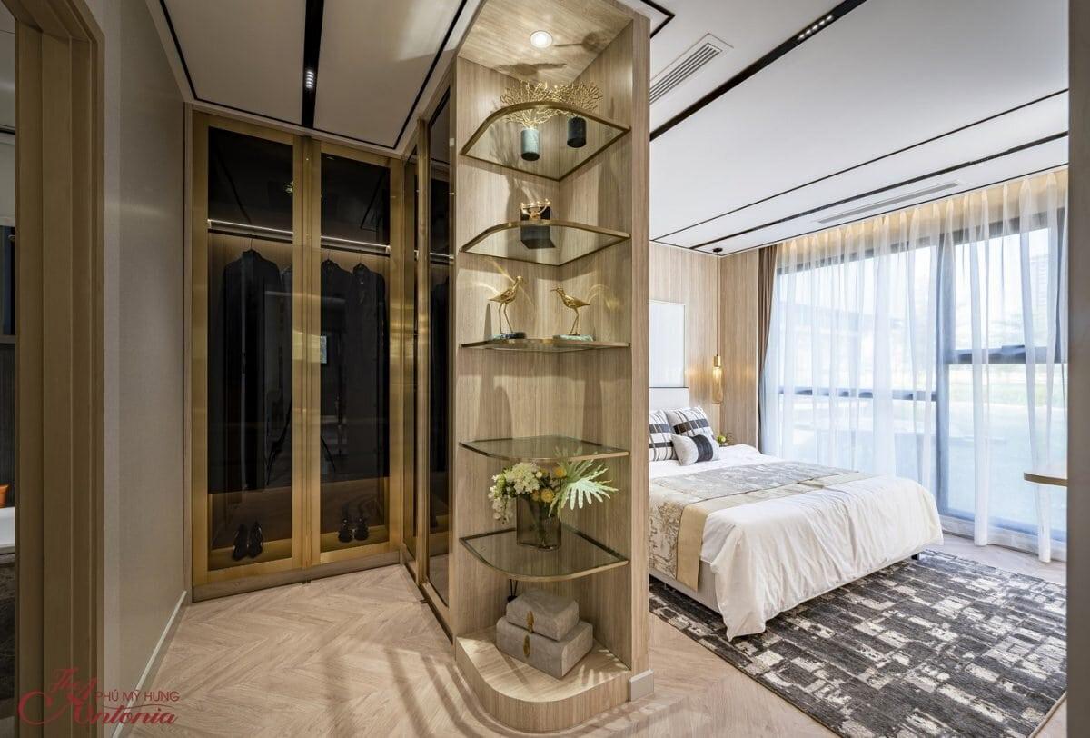 Căn hộ 3 phòng ngủ chiếm 21,8% – Trong hình là các không gian tại căn hộ mẫu 3 phòng ngủ. Hiện chủ đầu tư đã hoàn thiện căn hộ mẫu 2 phòng ngủ và 3 phòng ngủ để khách hàng có thể đến tham quan
