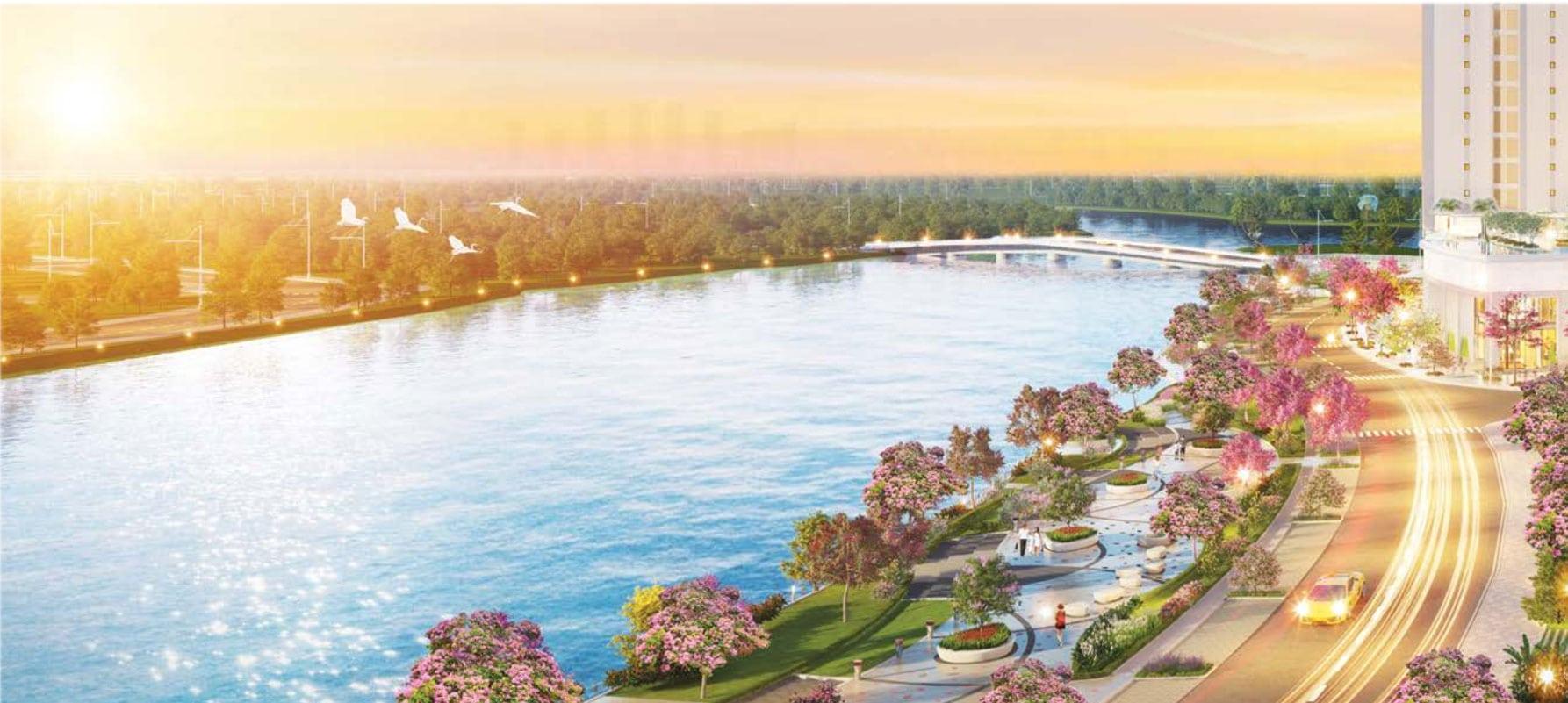 Công viên Hoa anh đào hứa hẹn sẽ là địa danh thu hút đông đảo cư dân đô thị và người dân thành phố, bổ sung nguồn khách cho shop Midtown.