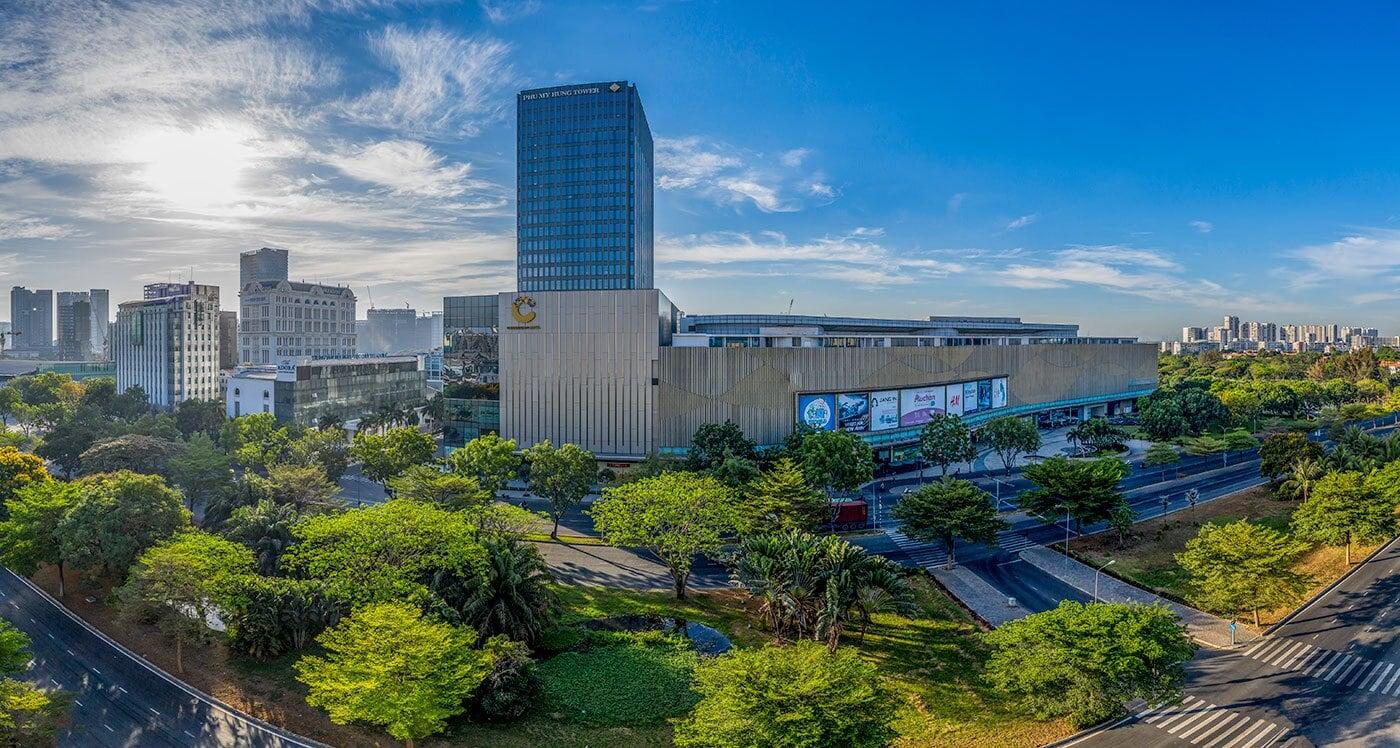 Crescent Mall buổi sáng