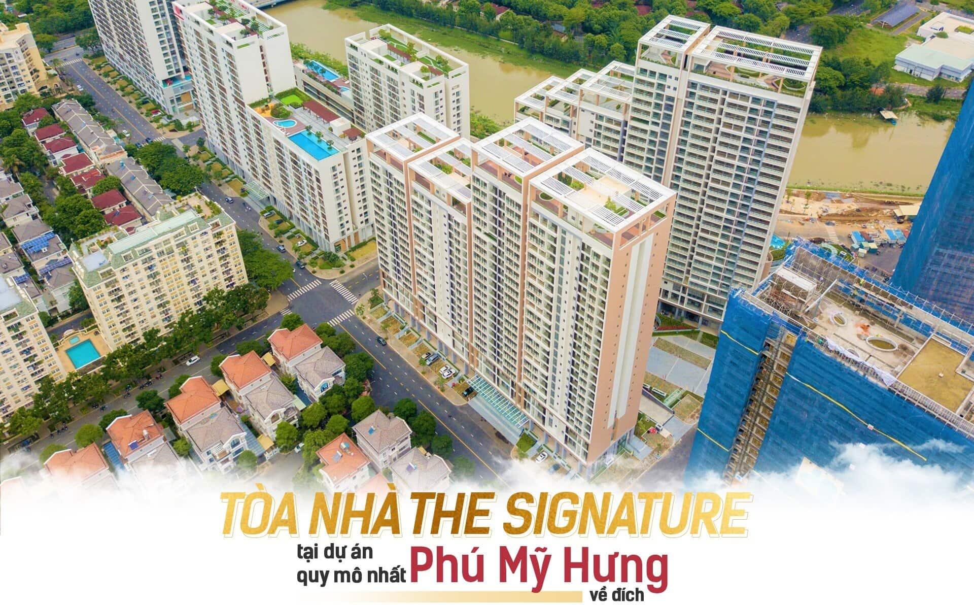 Bàn giao The Signature M7 Midtown Phú Mỹ Hưng