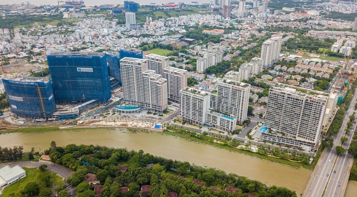 Toàn cảnh khu phức hợp Midtown Phú Mỹ Hưng