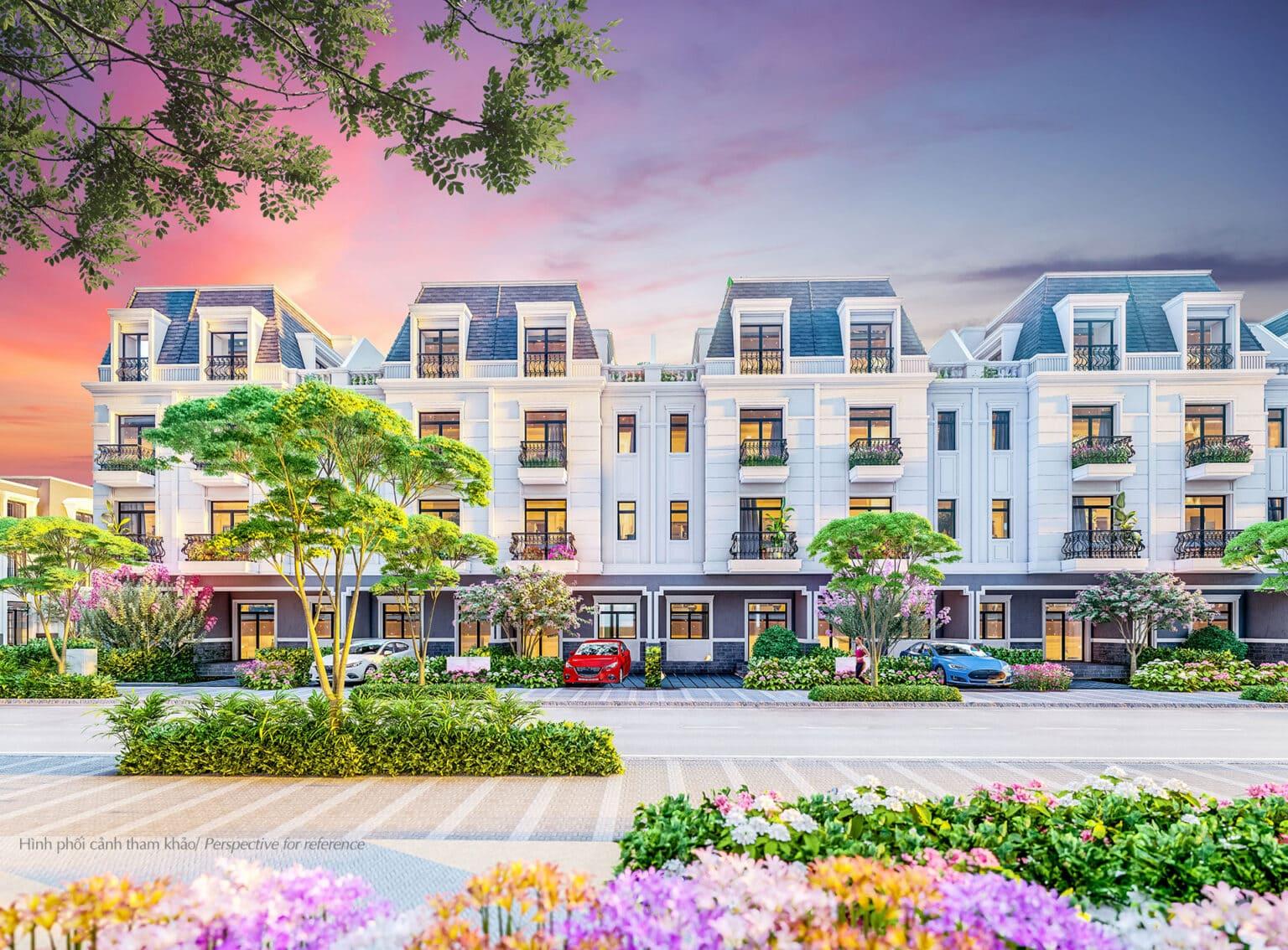 Được phân bổ đều trong toàn khu với những dãy phố dọc các tuyến đường, nhà phố liền kề TH mang đến đa dạng lựa chọn cho người mua từ view cho đến diện tích. Diện tích sàn của nhà phố liền kề TH Amelie Villa có diện tích sàn từ 200-282m2, gồm 4 tầng.