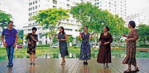 Sống giữa vui tươi tại khu đô thị Phú Mỹ Hưng