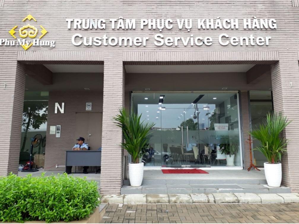 trung tâm phục vụ khách hàng PMH