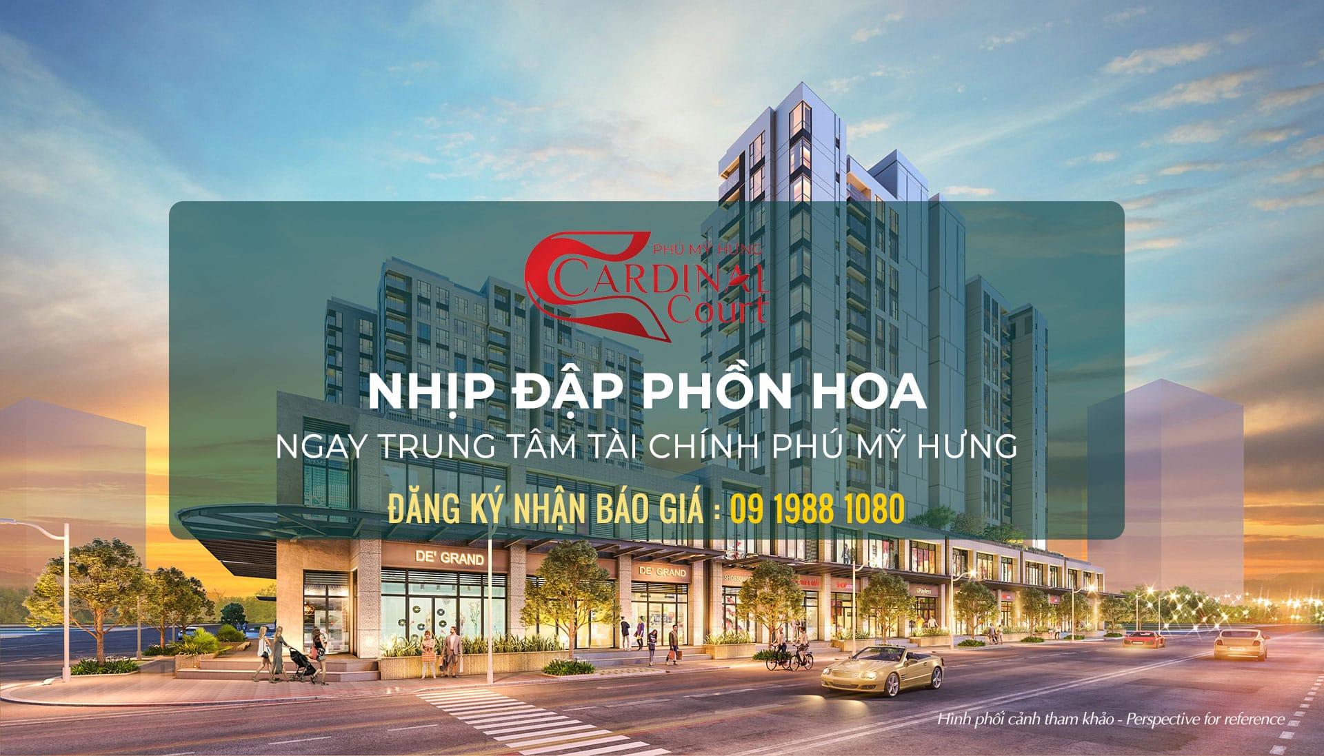 Giá bán Cardinal Court Phú Mỹ Hưng
