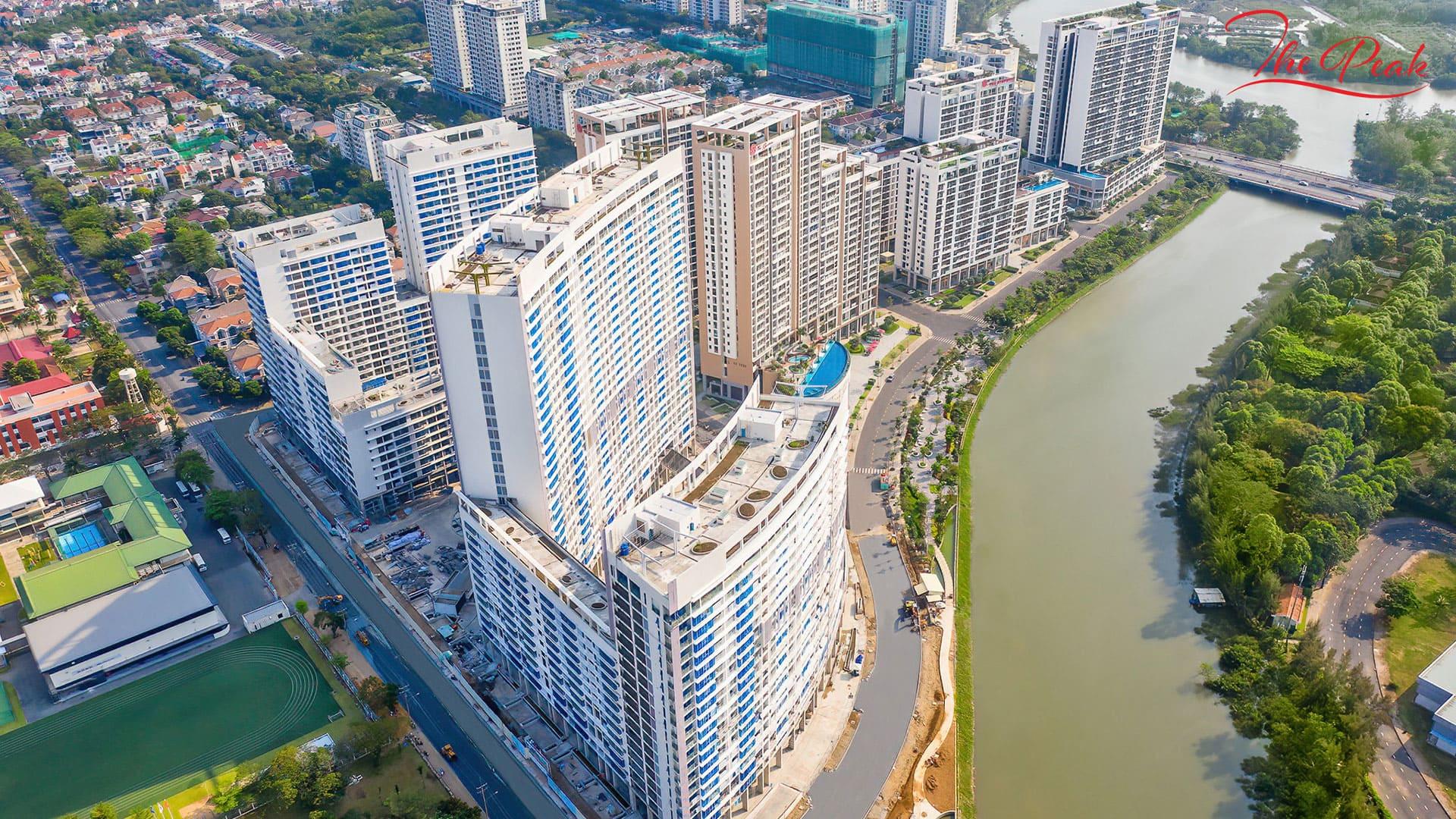 Dự án The Peak thuộc khu phức hợp Midtown tại khu đô thị Phú Mỹ Hưng sẽ được bàn giao vào Quý 4/2021 và Quý 2022.