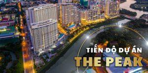 Cập nhật tiến độ dự án The Peak Midtown tháng 10/2021