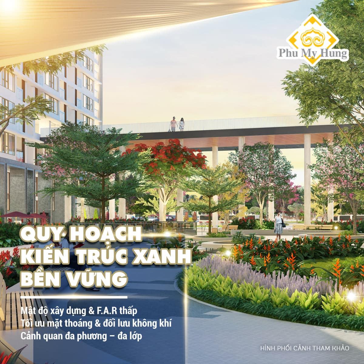 Quy hoạch kiến trúc xanh bền vững